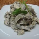 2.салат из рукколы с языком